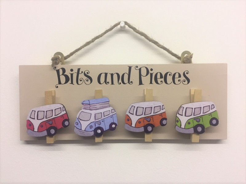 Bits and Pieces Pegs - Campervan