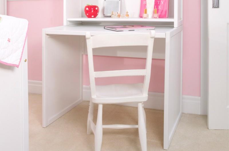 Kids Small White Desk