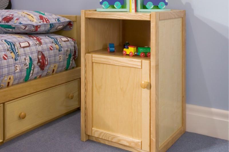 Wooden Bedside Cupboard