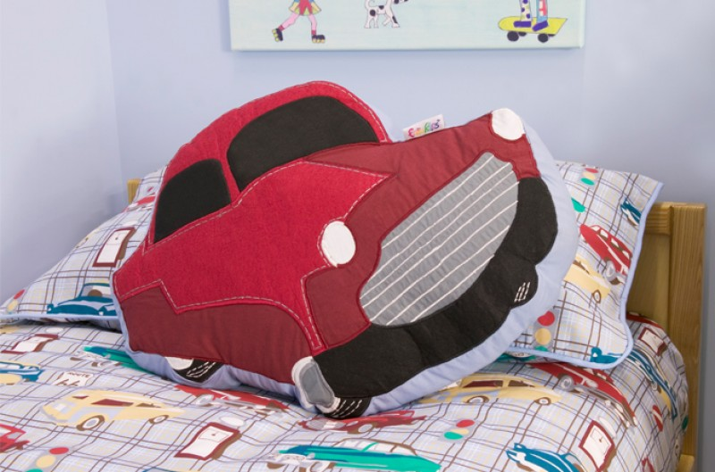 Motor Club Car Cushion
