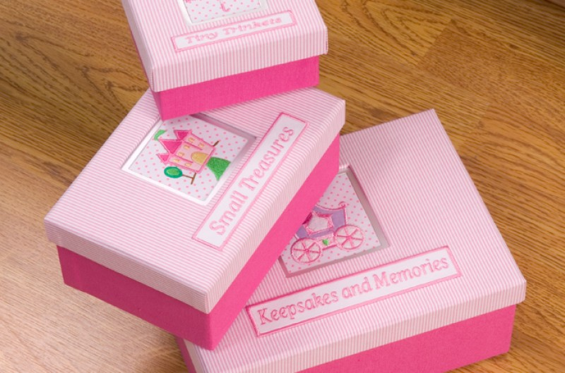 Keepsake Boxes - 3 Set