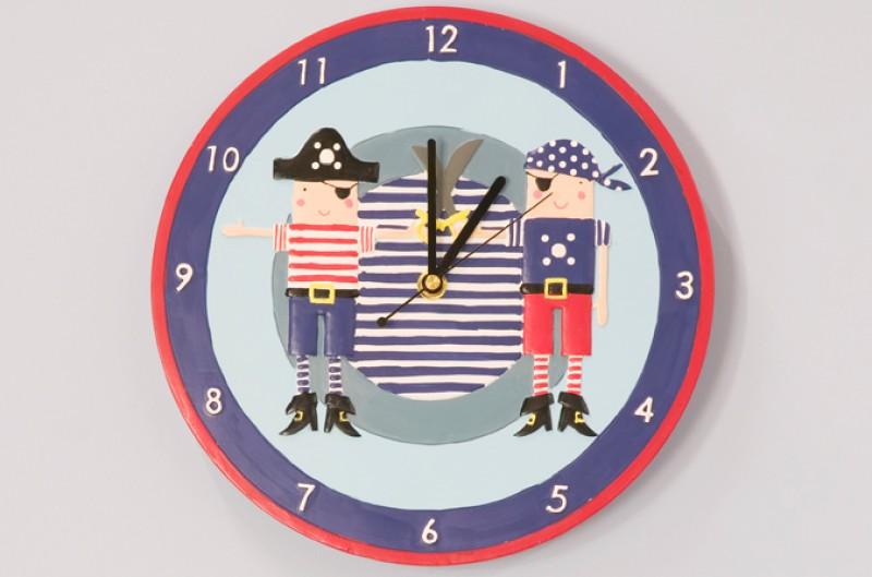 Pirates Clock