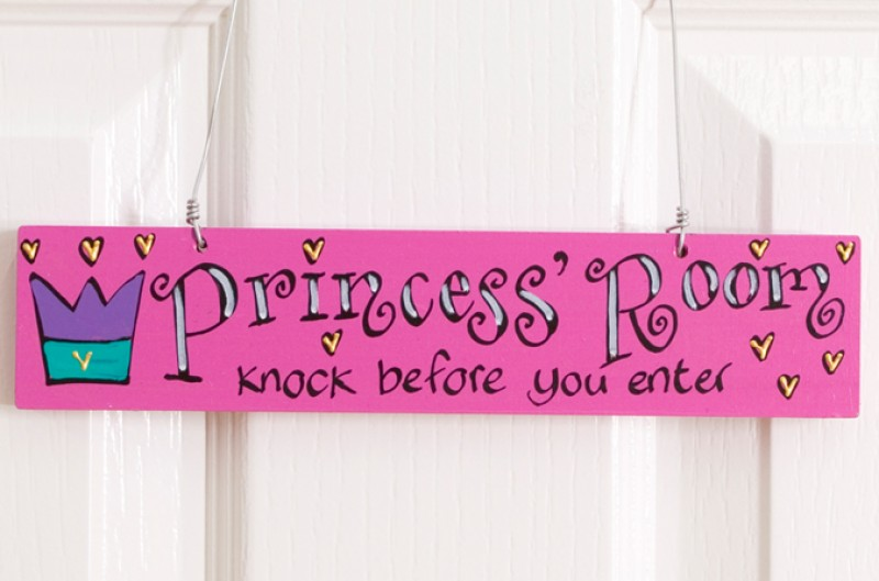 Princess Door Plaque