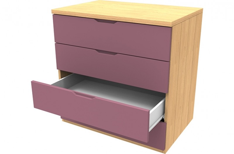Savannah Pink Four Drawer Chest