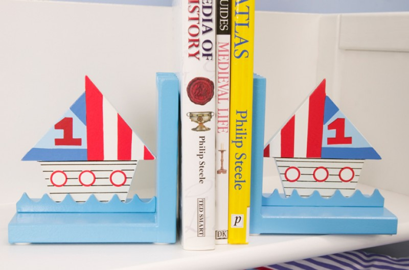 Ships Bookends