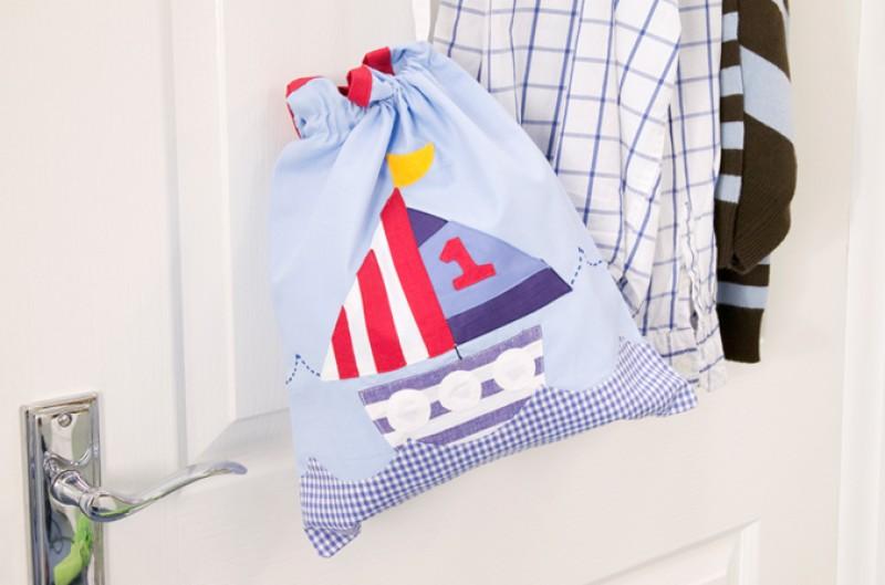 Ships Drawstring Bag