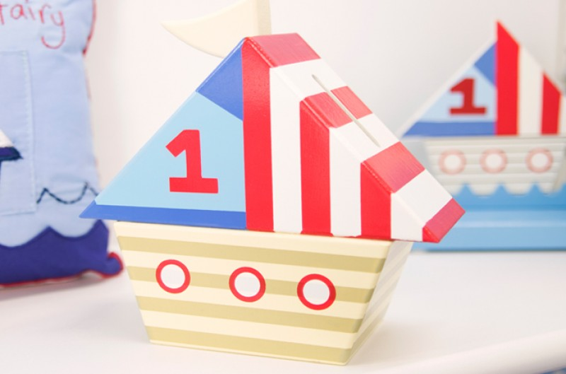 Ships Money Box