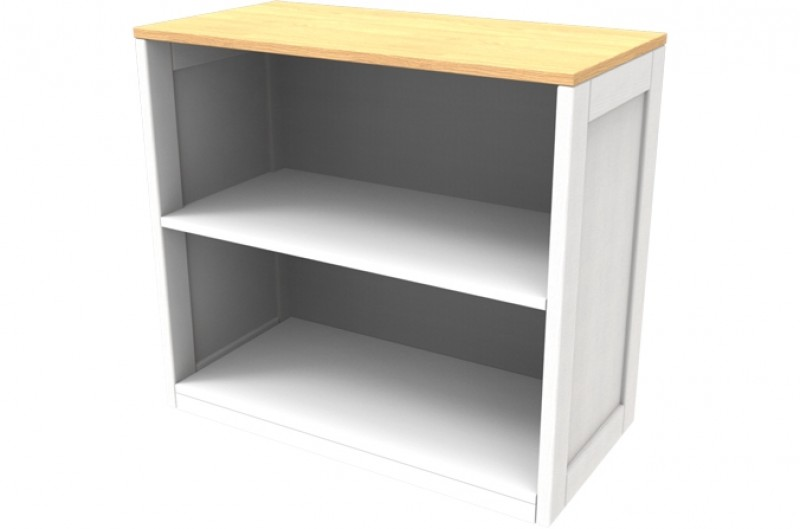 Sierra White Bookcase