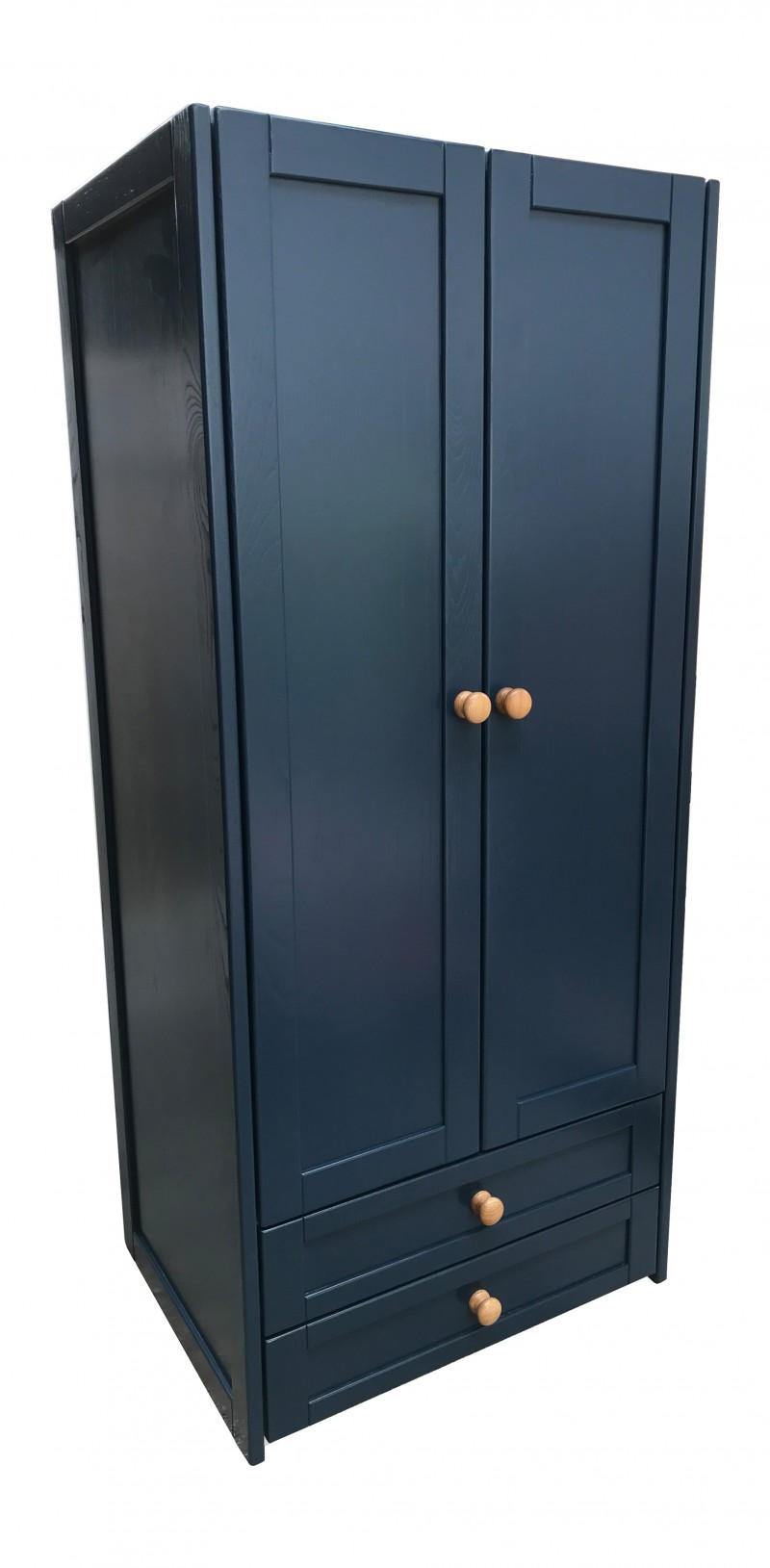 Sierra Navy Double Combi Wardrobe