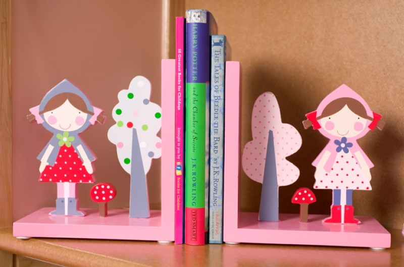 Strawberry Patch Bookends