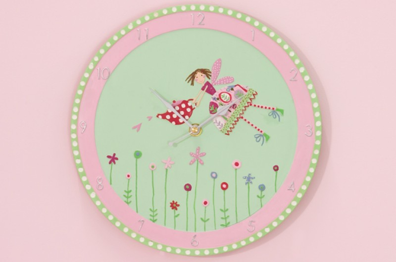 Tea Party Clock