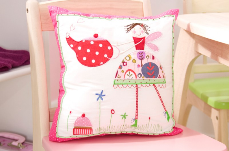 Tea Party Cushion