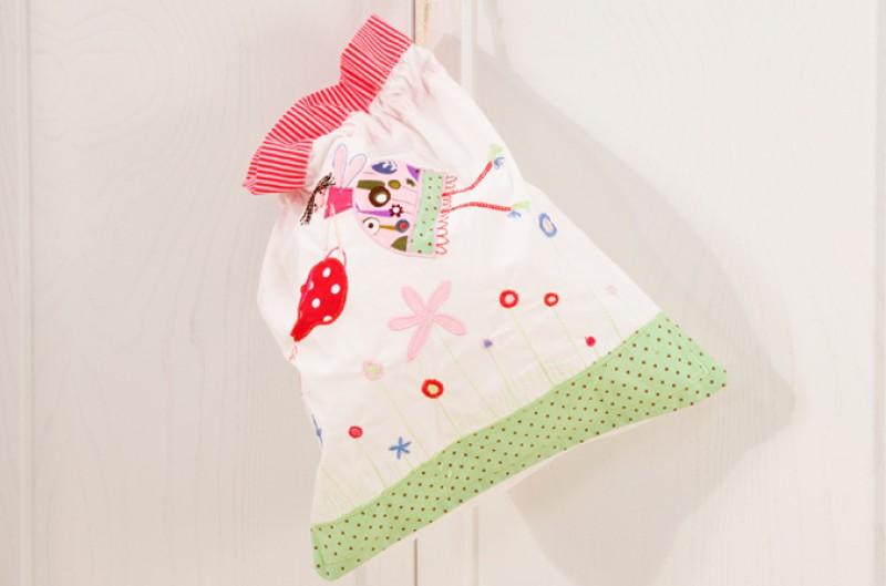 Tea Party Drawstring Bag