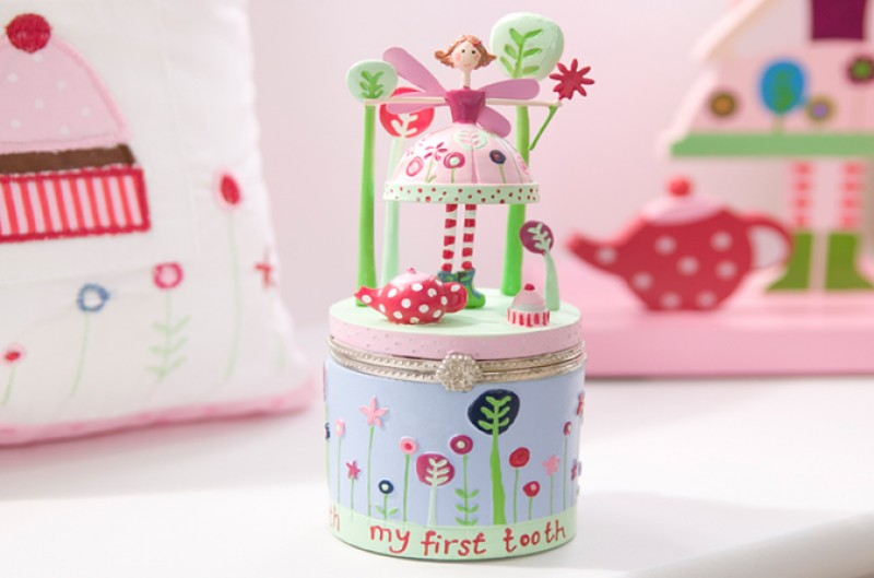 Tea Party Tooth Box