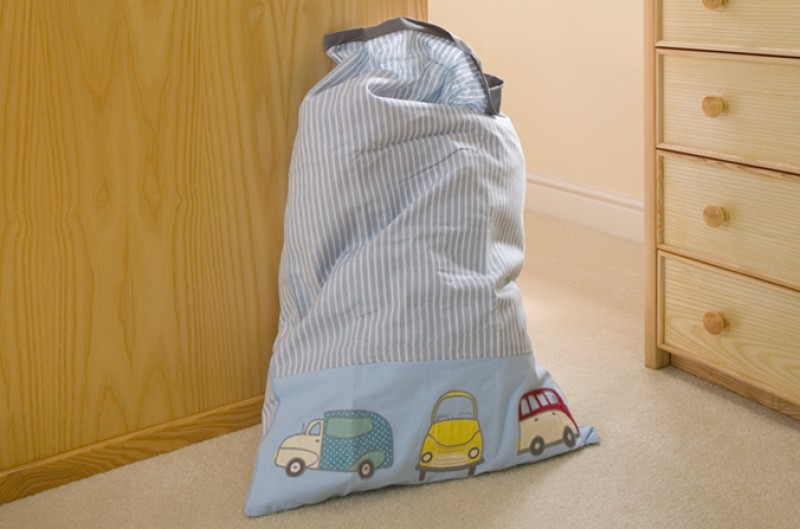 Vintage Car Laundry Bag