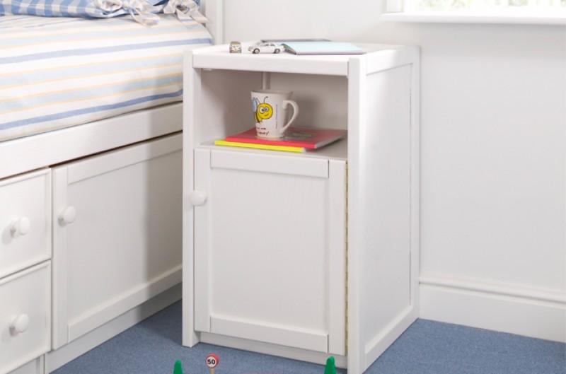 White Bedside Cupboard
