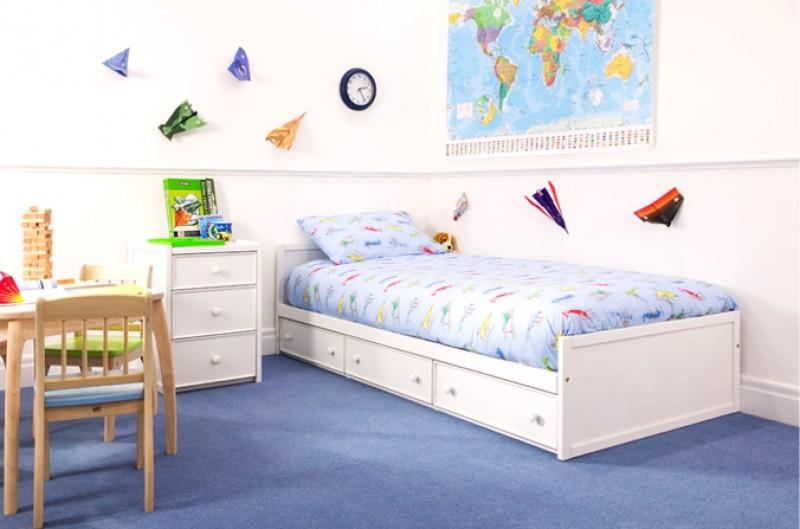 White Toddler Bed