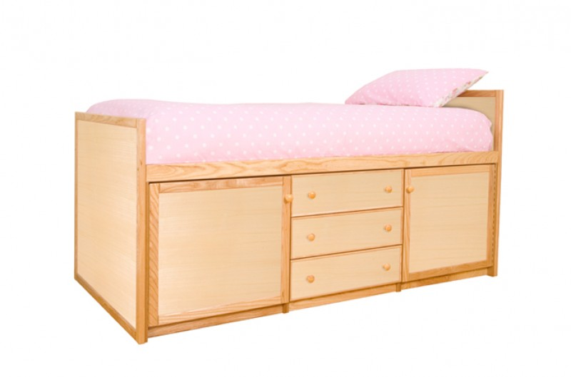 Wooden Cabin Bed