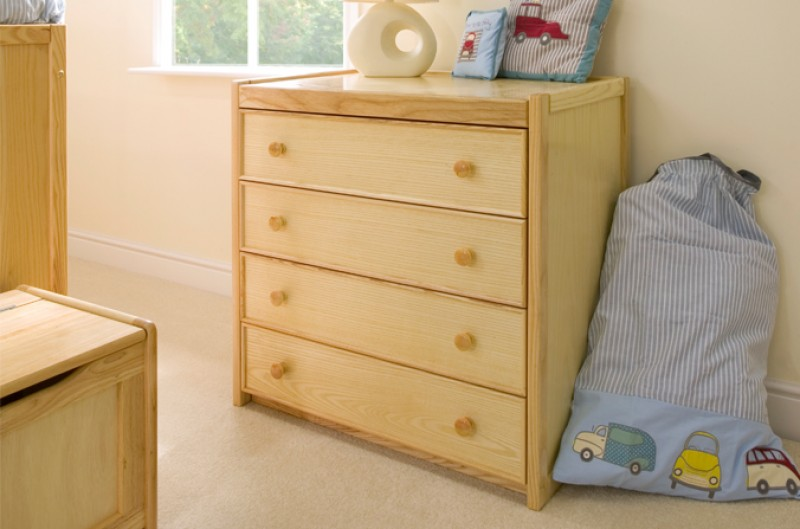 Wooden Childrens Chest of Drawers