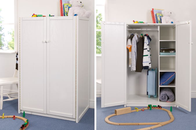 White Childrenu0027s Wardrobe