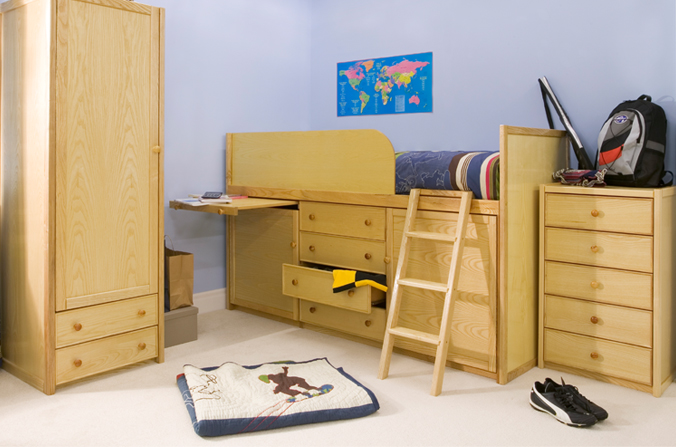 wooden captains bed cbc. Black Bedroom Furniture Sets. Home Design Ideas