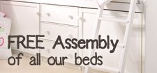 FREE Assembly of All Beds