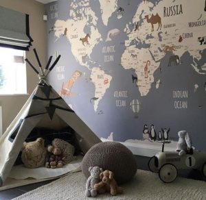 Baby boy bedroom